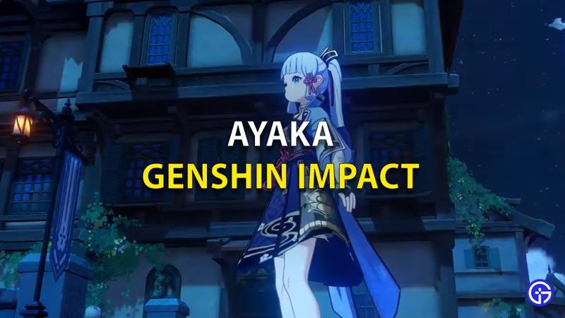 Ayaka Genshin Impact