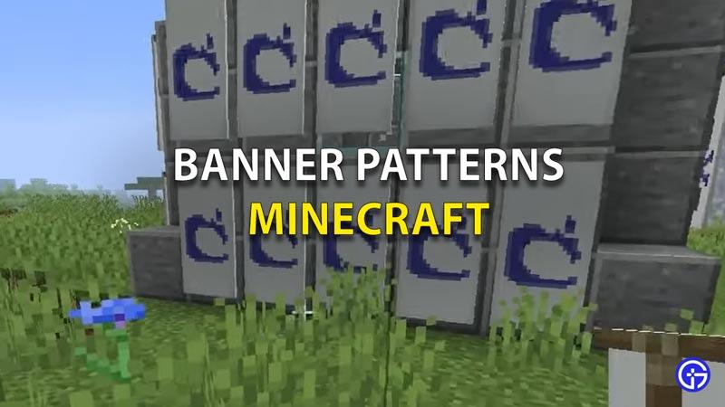 Banner Pattern Minecraft