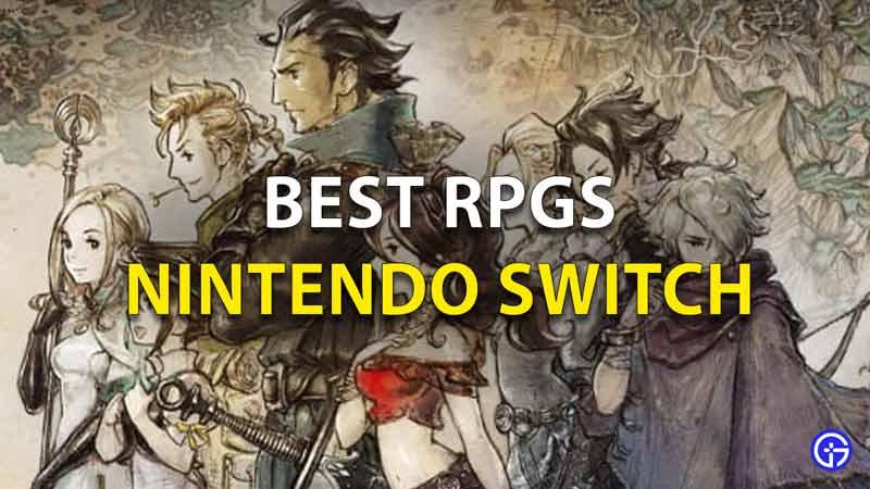 Best RPGs Switch