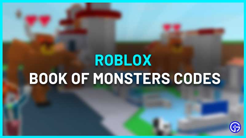 roblox book of monsters
