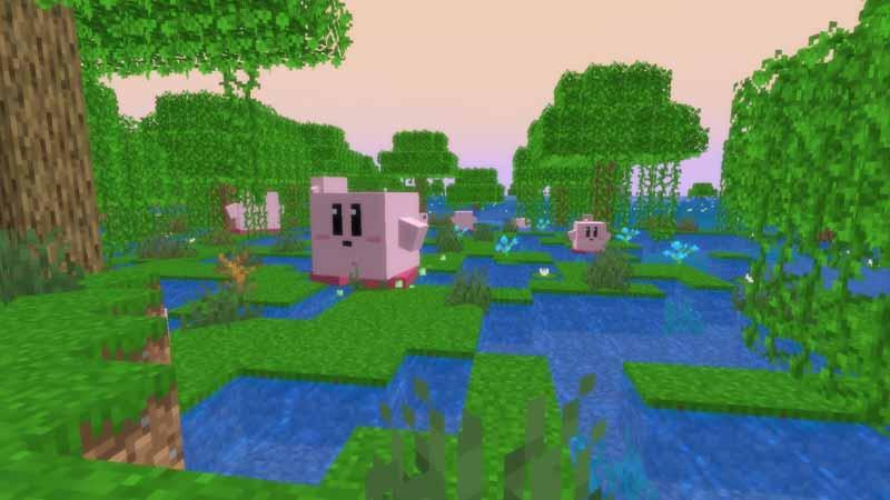 Candycane Craft cute kawaii Minecraft Texture Pack
