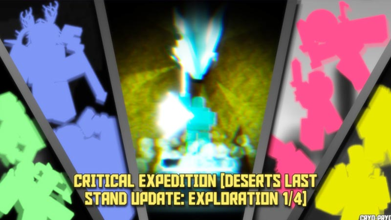 Crafting Recipes in Roblox Critical Expedition
