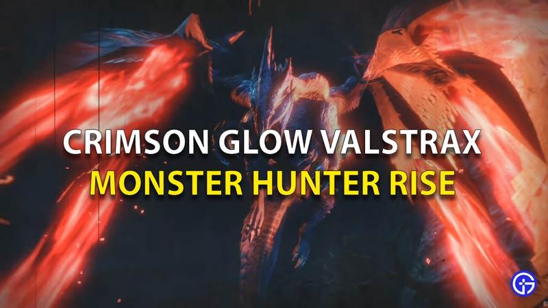 Crimson Glow Valstrax MHR