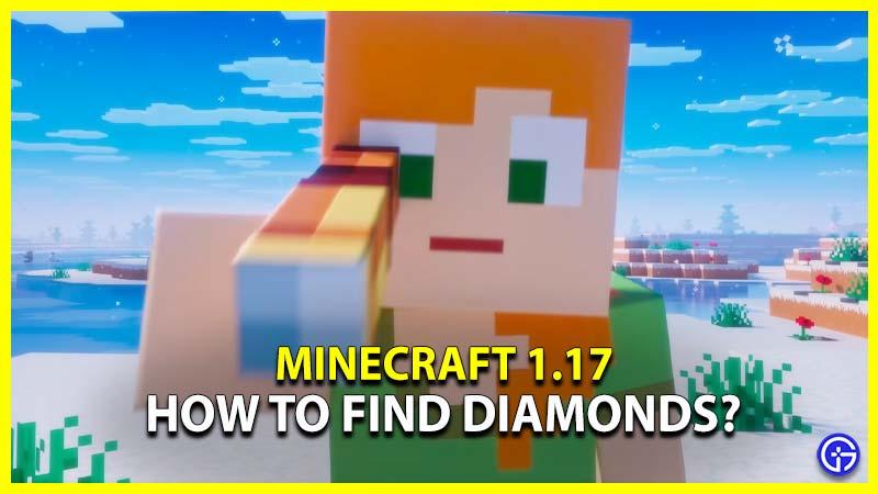 Diamonds Minecraft 1.17