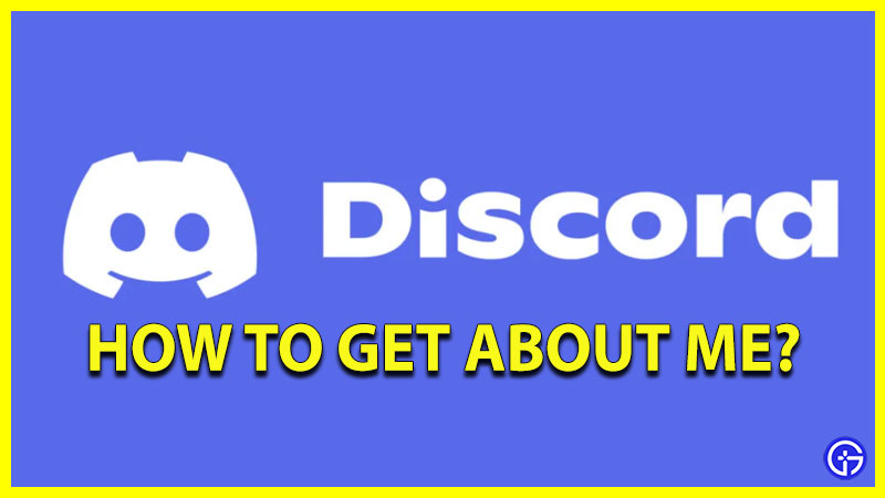 Discord About Me available on mobile