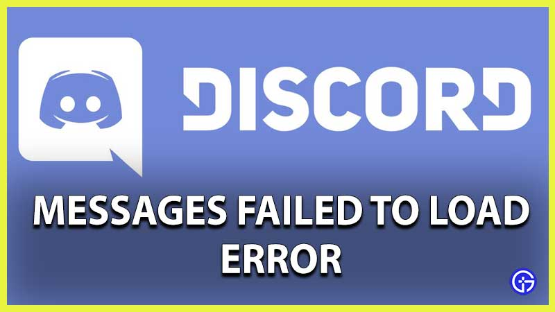 discord down messages failed to load error