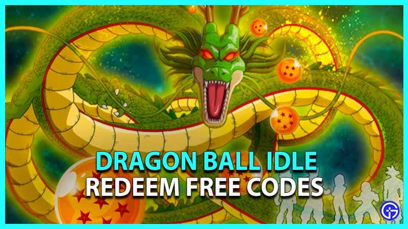 Dragon Ball Idle Codes