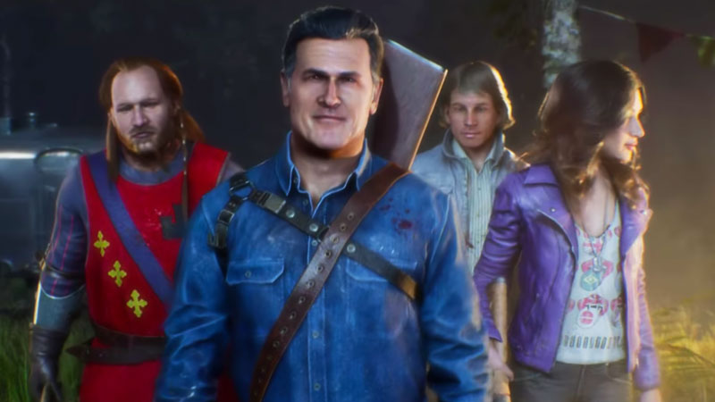 Evil Dead The Game Gameplay