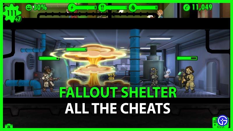 Fallout Shelter Cheats