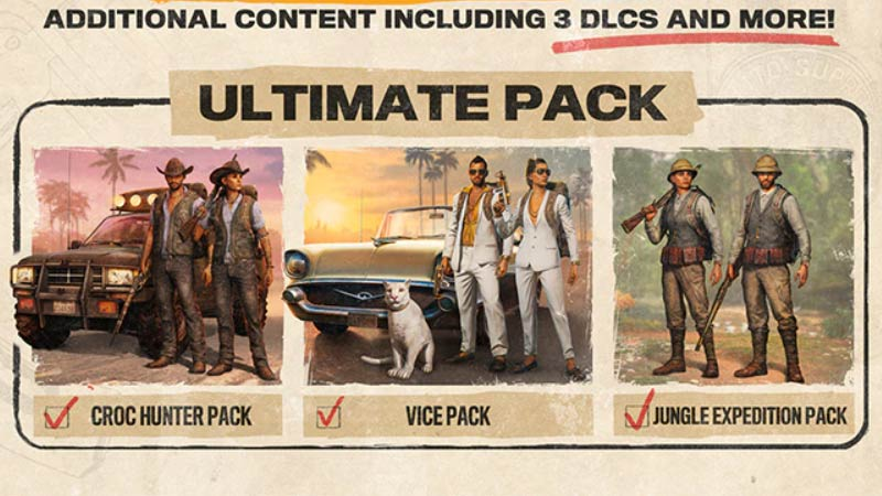 Far Cry 6 Male or Female Ultimate Pack Edition
