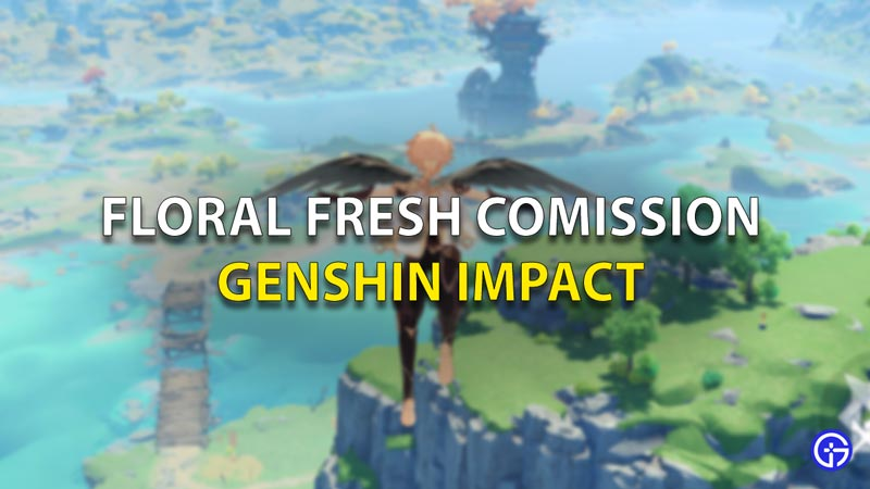 Floral Fresh Commission Genshin Impact