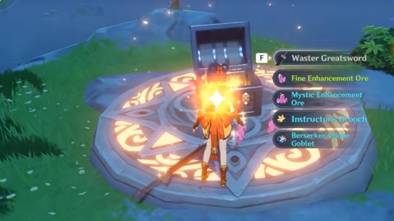 Genshin Impact Fire Totem