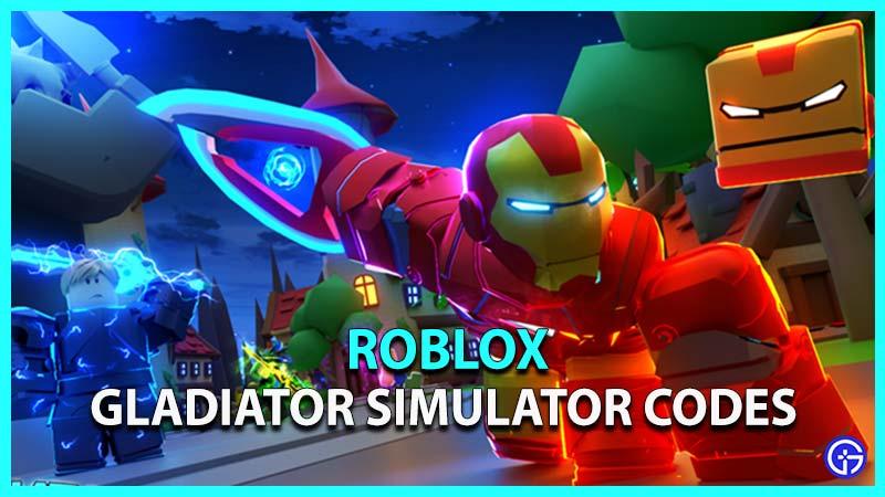 Roblox Gladiator Simulator Codes