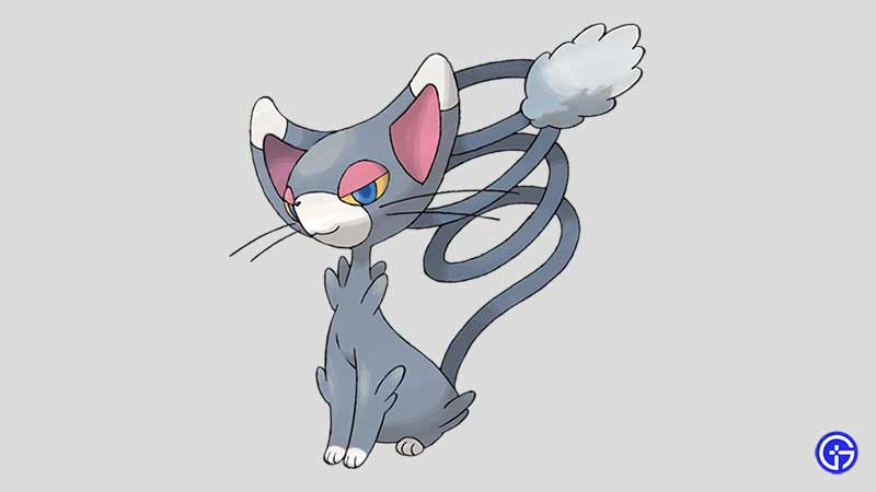 Glameow cat pokemon