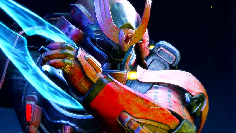Halo Infinite Samurai Armor Yoroi Spartan