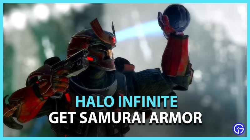 Halo Infinite Samurai Armor
