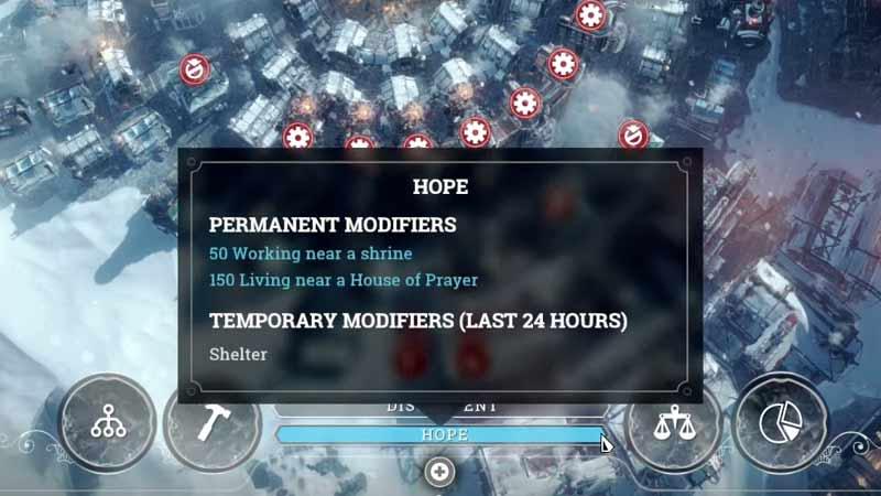 Hope Modifiers Frostpunk