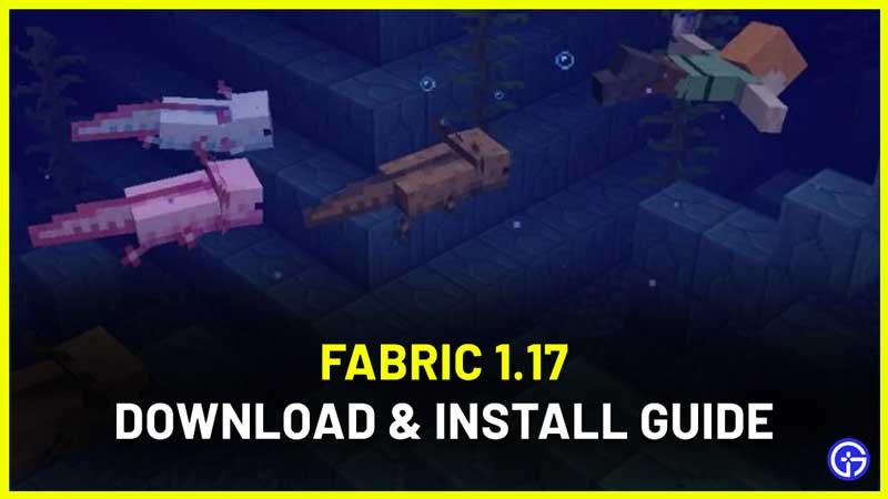 Fabric 1.17 - How To Download And Install