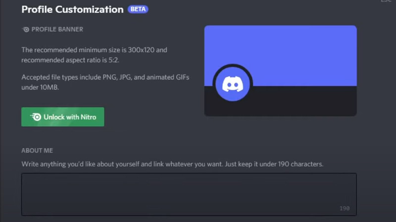 How to Get Discord About Me Beta and Edit it