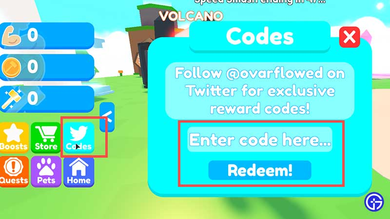 How to Redeem Codes in Roblox Smash Legends
