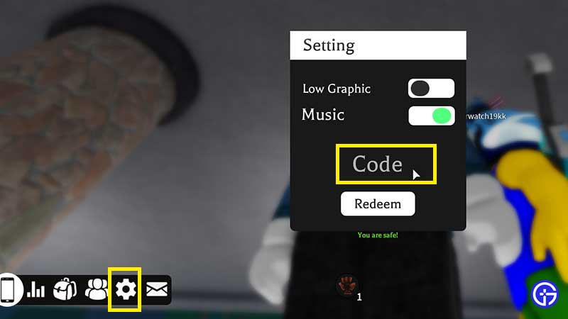 how to redeem Roblox Sorcerer Legacy Codes