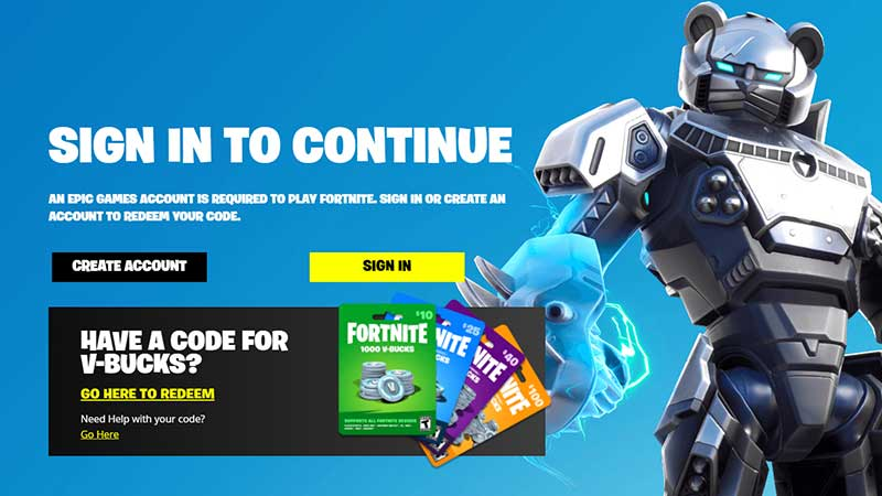 how to redeem fortnite codes