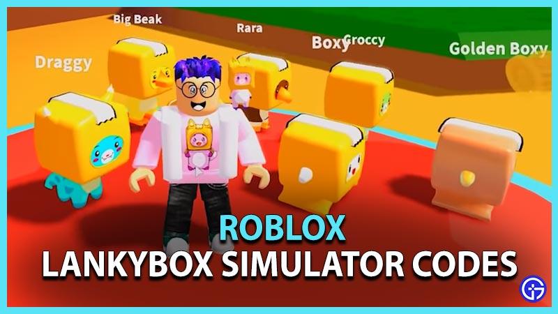 Lankybox Simulator Codes