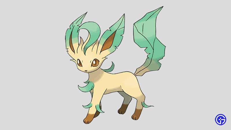 Leafeon cat pokemon