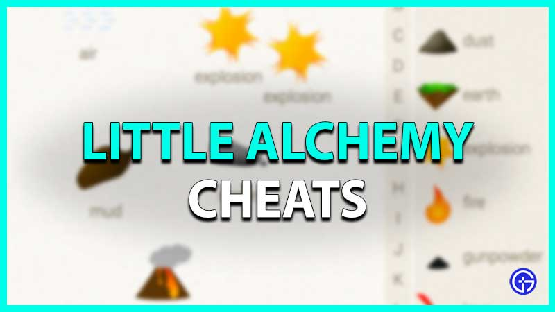 little alchemy cheats list of all combinations