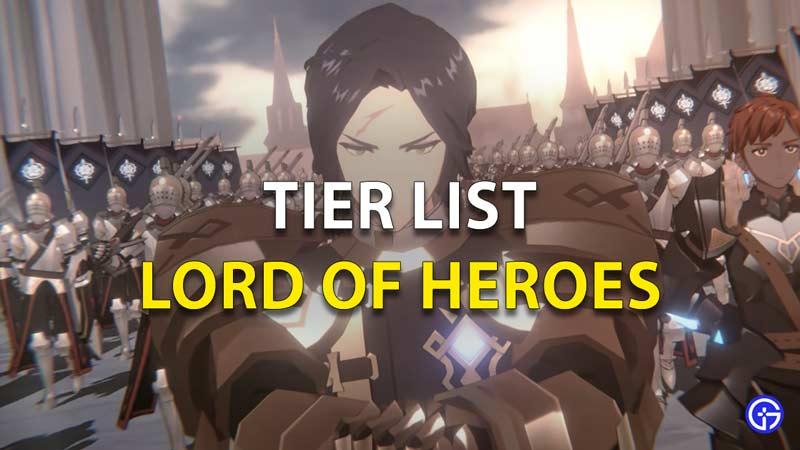 LoH Tier List