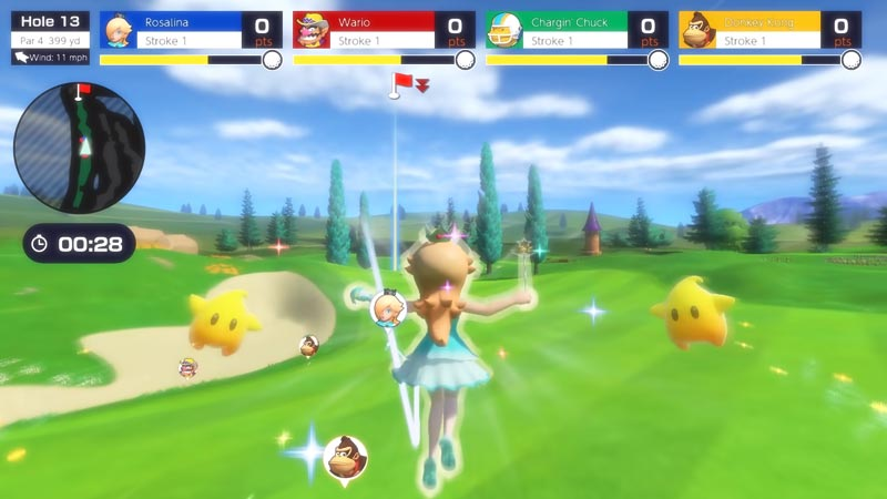 Mario Golf Super Rush Rosalina