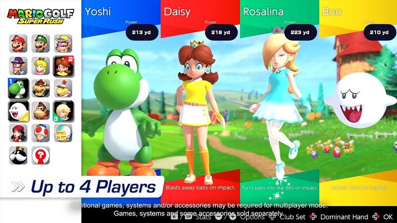 Mario Golf Super Rush Tier List