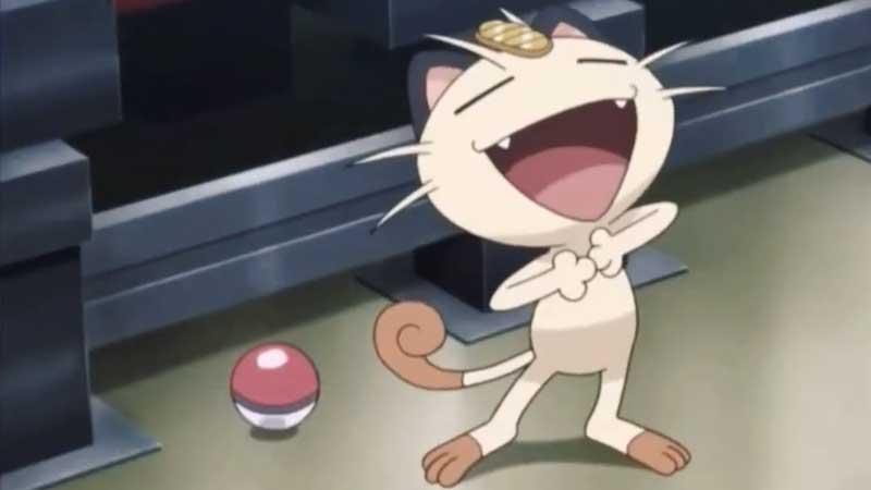 Meowth Cat Pokemon