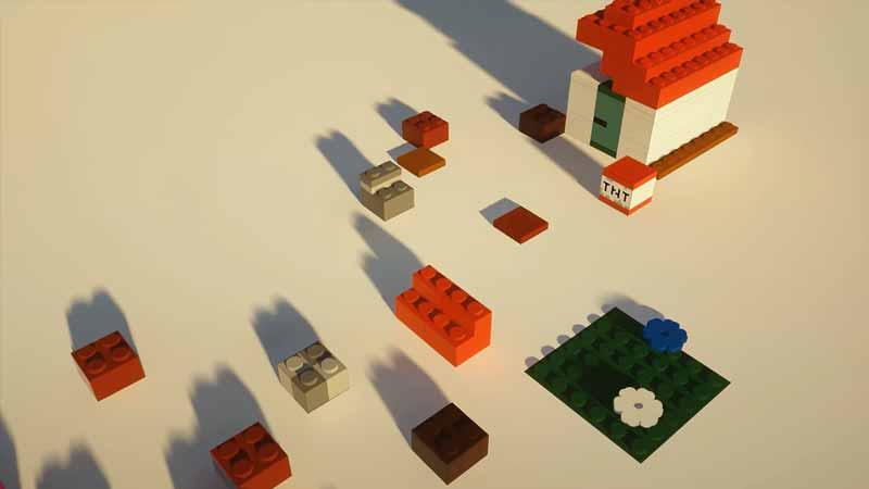 MineBricks Minecraft Lego Texture Pack