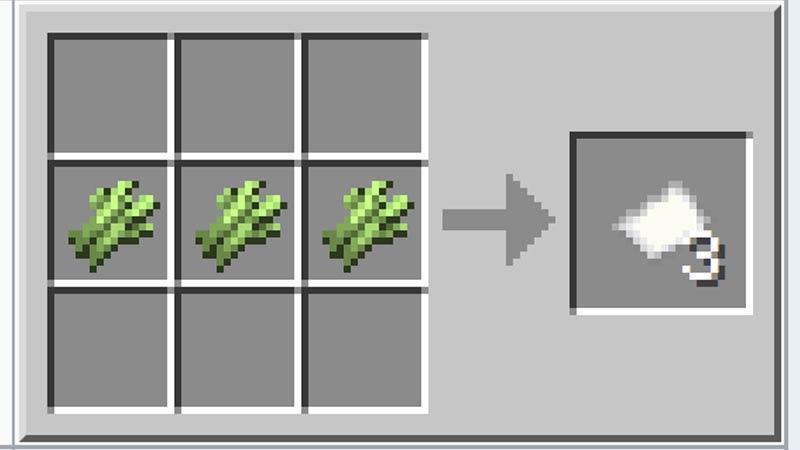 Minecraft Paper Crafting ingredient