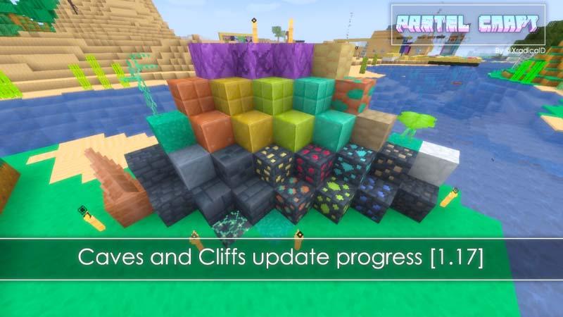 Pastel Craftt Minecraft 1.17 Texture Pack