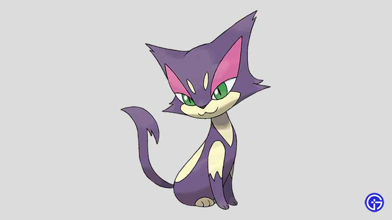 Purrloin cat pokemon
