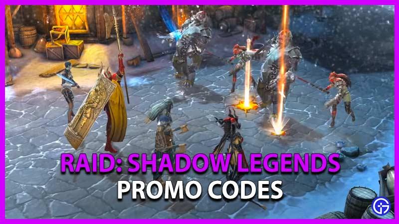 Raid Shadow Legends Promo Code