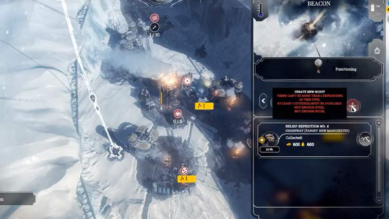 Relief Expedition Frostpunk