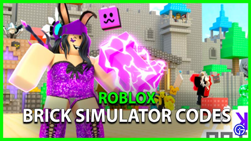 Roblox Brick Simulator Codes