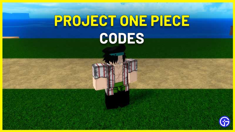 Roblox Project One Piece Codes