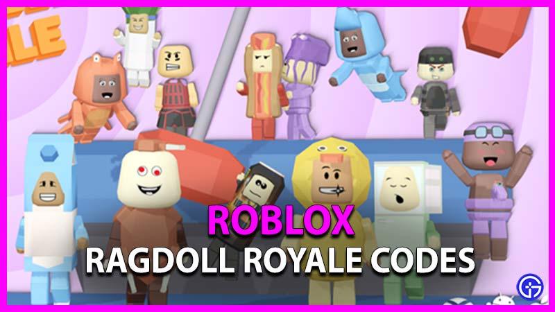 Roblox Ragdoll Royale Codes