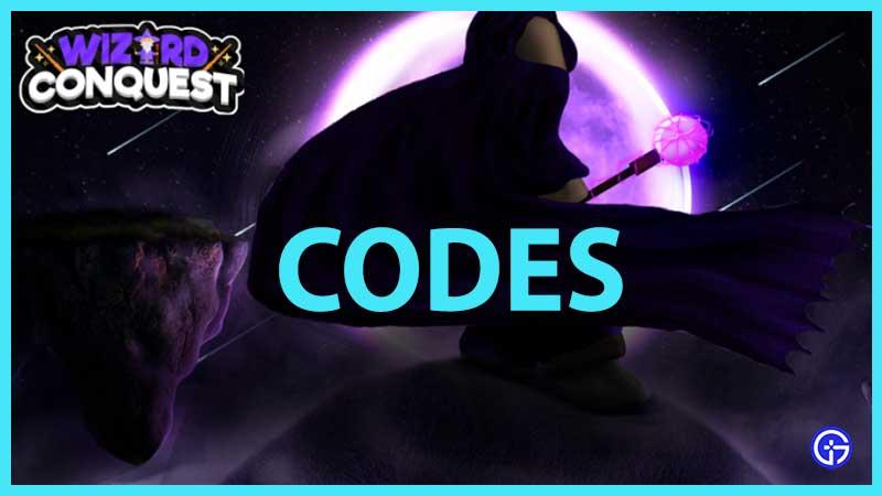 Roblox Wizard Conquest Codes