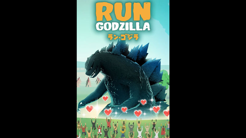 Run Godzilla