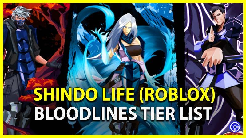Shindo Life Tier List