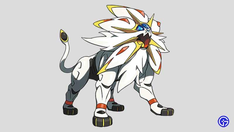 Solgaleo cat pokemon