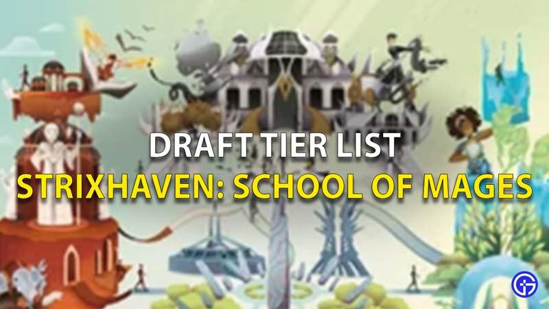Strixhaven Tier List
