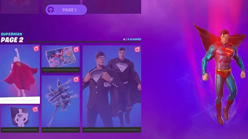 Superman Skin In Fortnite