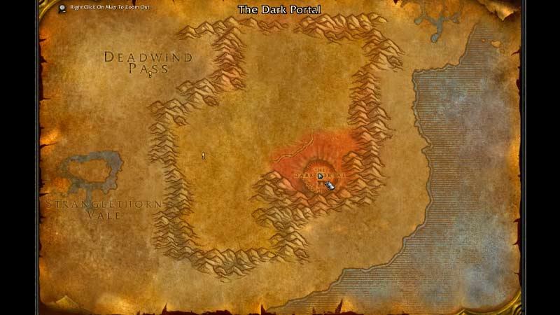 The Dark Portal Location