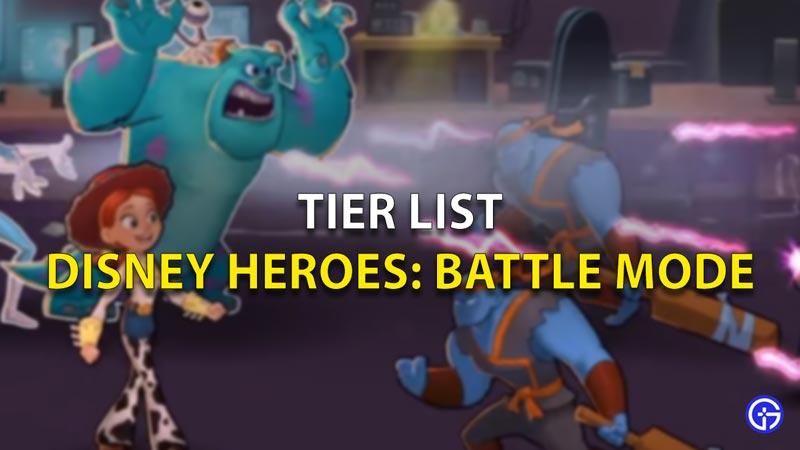 Tier List Disney Heroes